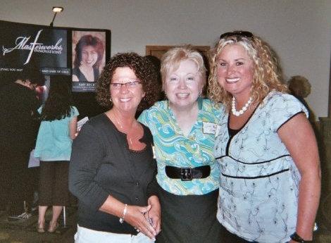2008 - Jana Gaddis, me & Tonya Marsh