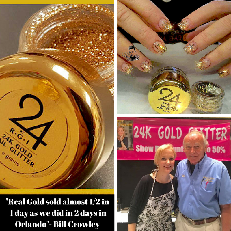 Real Gold sold almost 1_2 in 1 day as we did in 2 days in Orlando- Bill Crowley