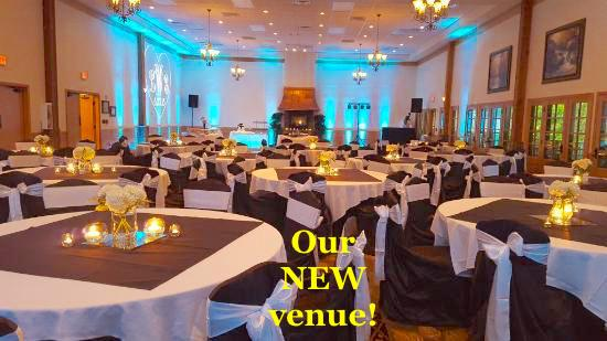 Brookside Resort Events Center uber chic