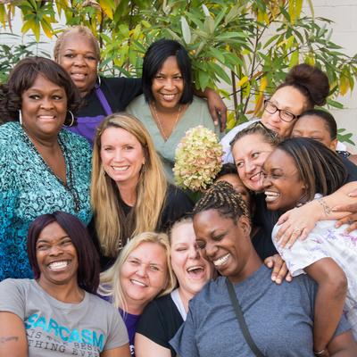 Becca & the women of TF