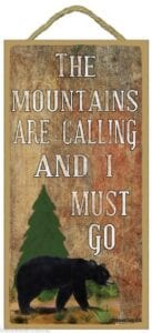 Mtns are calling sign