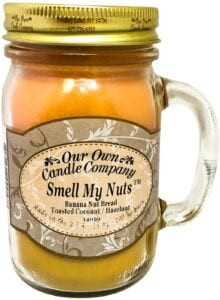 2021 Smell My Nuts candle