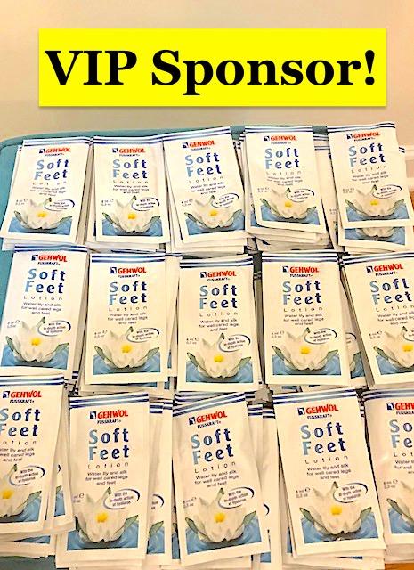 2021 VIP Sponsor Gehwol Soft Feet